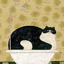 Cat in a Hot Tin Tub