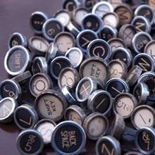 Typography Keys Horizontal