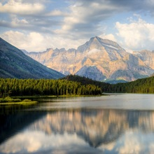 Swiftcurrent Lake, Many Glacier, Glacier National Park, Montana