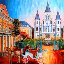 The Hours on Jackson Square