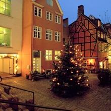 Denmark Copenhagen Courtyard Located In Pistolstraede Great - Where is copenhagen located
