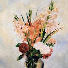 Gladiolus. Ca. 1885. By Pierre-Auguste Renoir. Orsay Museum