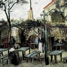 Terrace of the Cafe La Guinguuette