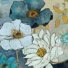 Blue Demin Garden II