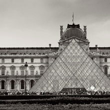 Pyramid at the Louvre II