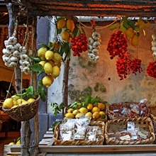 Fruit Stand, Sorrento, Campania, Italy