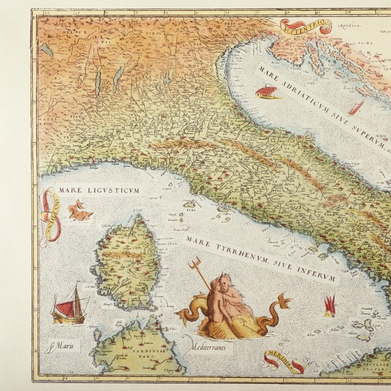 Italy Map 1500.Map Of Italy In 1500 Wall Art Canvas Prints Framed Prints Wall