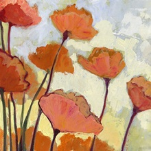 Poppies In Cream Wall Art Canvas Prints Framed Prints Wall Peels Great Big Canvas