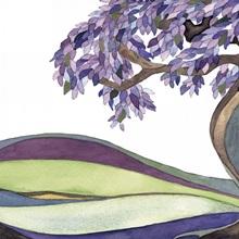 Bashert - purple - I am my beloveds