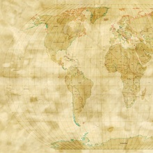World Map Antique Style Wall Art Canvas Prints Framed Prints Wall Peels Great Big Canvas