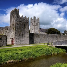 Holy Trinity Church and Augustinian Abbey at Fethard in Tipperary, Ireland