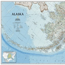 NGS Atlas Of The World Th Ed Political Map Of New England - Political map of alaska