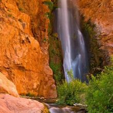 Scenic Deer Creek Falls in Grand Canyon National Park