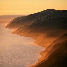 Waves upon the coast of California's King Range, California