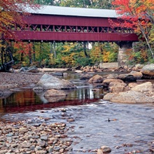 New England Covered Bridge