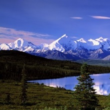 Alaska, Denali National Park, Wonder Lake