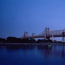 Bridge across a river, Queensboro Bridge, East River, Manhattan, New York City, New York State