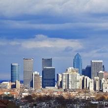 Buildings in a city, Comcast Center, Center City, Philadelphia, Philadelphia County, Pennsylvania
