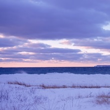 Michigan, Lake Michigan, sunset