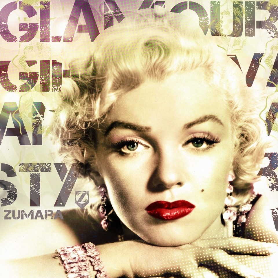 Marilyn Monroe Glamour Hands Wall Art, Canvas Prints, Framed Prints ...