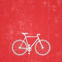 Bike silhouette art