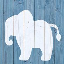 Elephant - Zoo Animal Shape