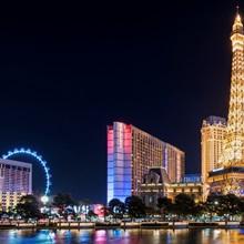 Las Vegas Strip at Night Panorama
