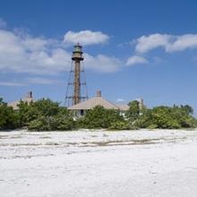 Sanibel lighthouse, Sanibel Island, Gulf Coast, Florida