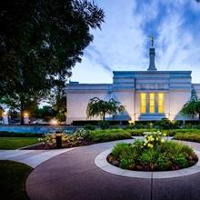 Medford Oregon Temple, Sunset, Central Point, Oregon